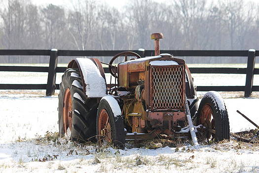 The Old Tractor by Shawn Yospin