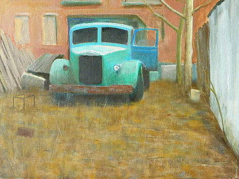 The old truck by Erno Saller