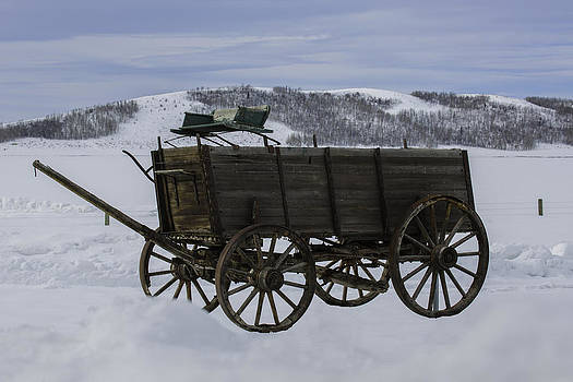 The Old Wagon by Susi Stroud
