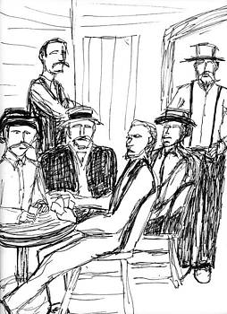 Allen Forrest - The Old West Gamblers 1