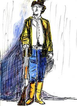 Allen Forrest - The Old West Gunslingers Billy the KId