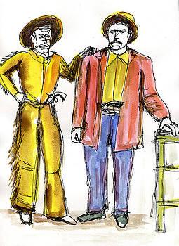 Allen Forrest - The Old West Gunslingers Cowboys