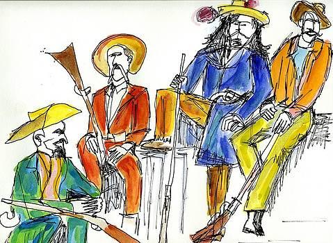 Allen Forrest - The Old West Gunslingers Frontiersmen