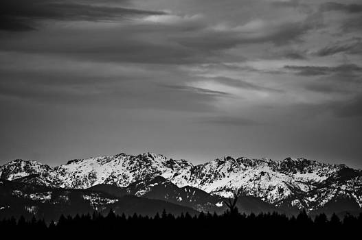 Ronda Broatch - The Olympic Mountains Under Snow