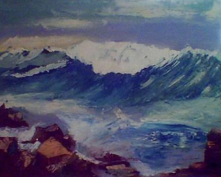 The Open Sea by Mona Reccord