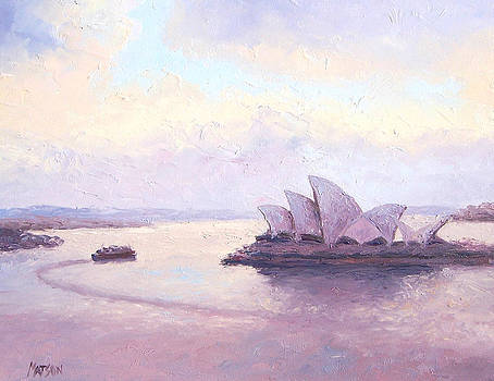 Jan Matson - The Opera House and the early morning ferry