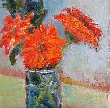 The Oranges by Wendie Thompson