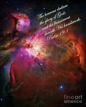 Vicki Maheu - The Orion Nebula Declares