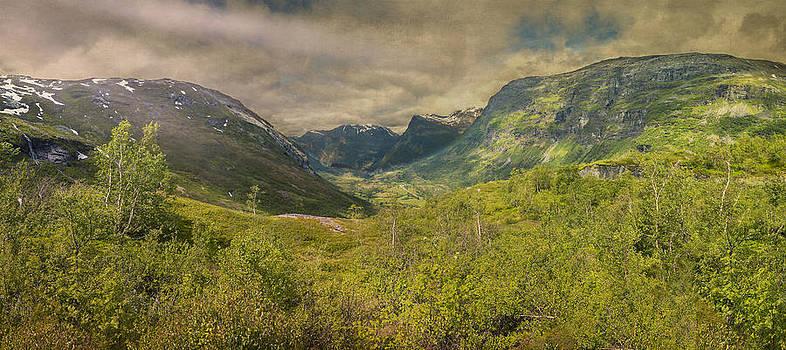 The Other Side of Trollstigen Norway by Angela A Stanton
