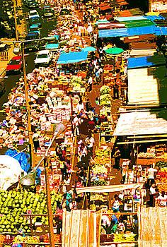 The Outdoor Marketplace by David Schneider