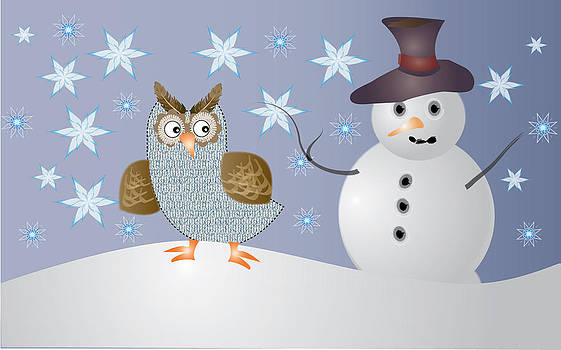 The Owl and the Snowman by Demelza Everett