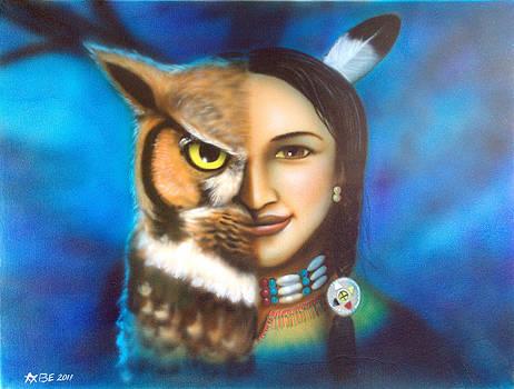 The owl spirit by Amatzia Baruchi