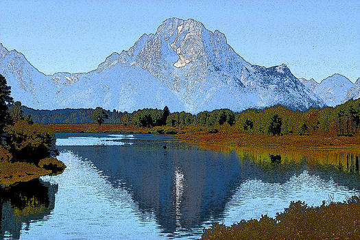 The Oxbow Bend by Rick Thiemke