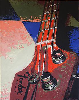 The P Bass by Alexandra  Kube