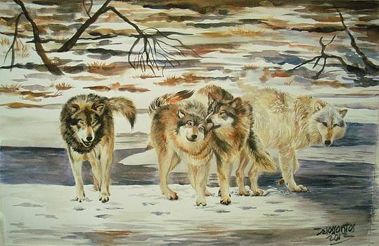 The Pack by Kristina Delossantos