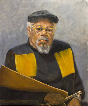 The painter Donald Lee by Mary Phelps