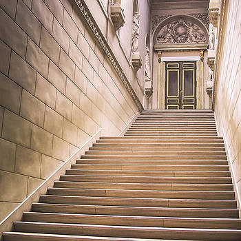 The Palace Stairs by Janelle Yeager