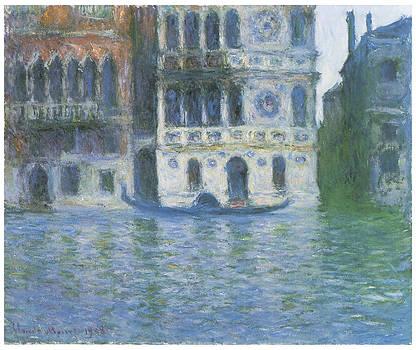 Claude Monet - The Palazzo Dario