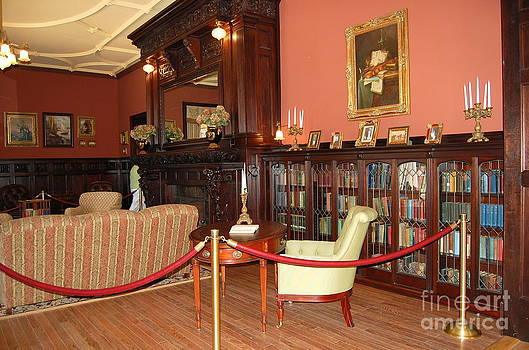 The Parlor at Boldt Castle 1000 Islands Thousand Islands by Linda Rae Cuthbertson