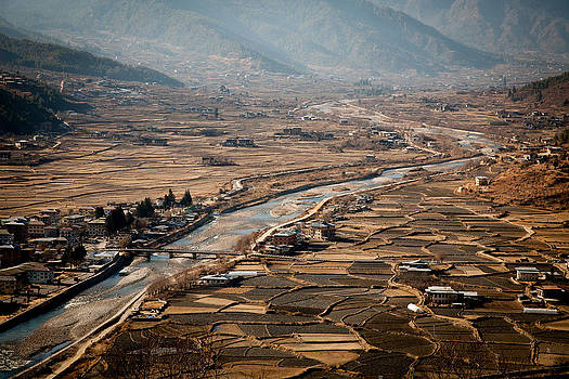 The Paro valley by James McRae