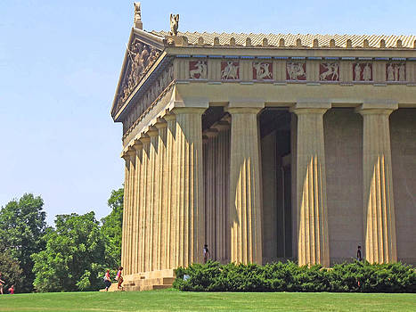 The Parthenon by Mamie Thornbrue