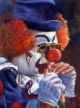 The Pastel Clown by JAXINE Cummins