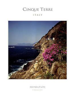 The Path of Love in Cinque Terre by Massimo Conti