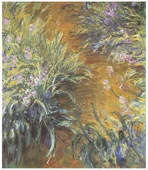 Claude Monet - The Path Through The Irises