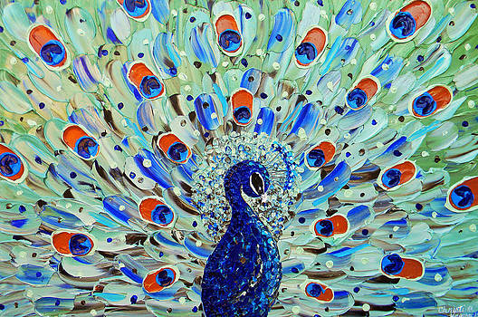 The Peacock by Christine Krainock