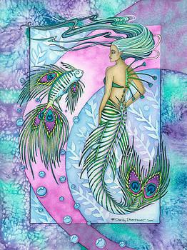 The Peacock Mermaid by Charity Dauenhauer