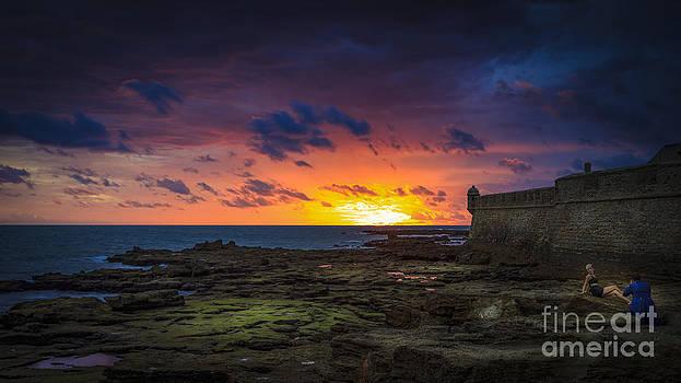 The Perfect Backdrop Cadiz Spain by Pablo Avanzini