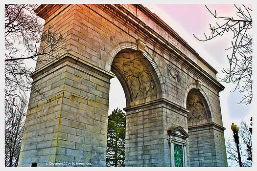 The Perry Memorial Arch at Seaside Park Bridgeport CT by Ed Hernandez