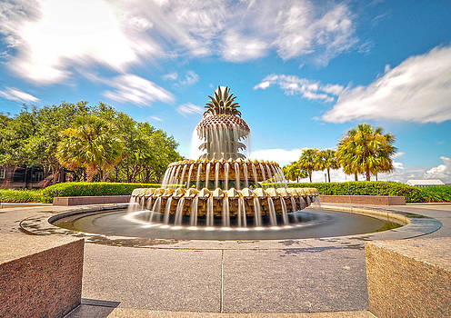 The Pineapple Fountain by Donnie Smith
