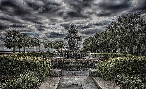 The Pineapple Fountain   by Steven  Taylor