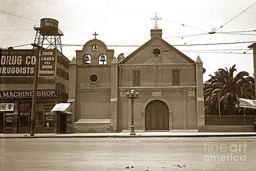 California Views Archives Mr Pat Hathaway Archives - The Plaza Church Los Angeles circa 1915
