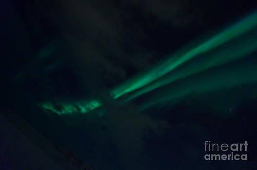 The Pleiades and The Aurora by AC Hamilton