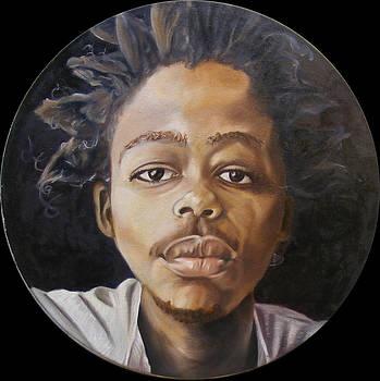 THE POET Self portrait by Ntembeko Bonkolo