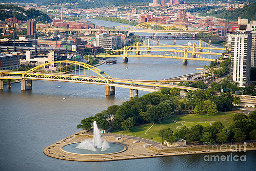 The Point at Pittsburgh by Sharon Dominick