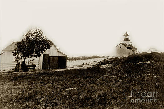California Views Mr Pat Hathaway Archives - The Point Pinos lighthouse Pacific Grove California circa 1895