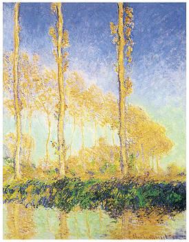Claude Monet - The Poplars Three Trees Fall