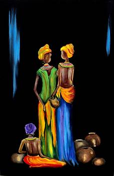 The Pot Sellers by Marietjie Henning