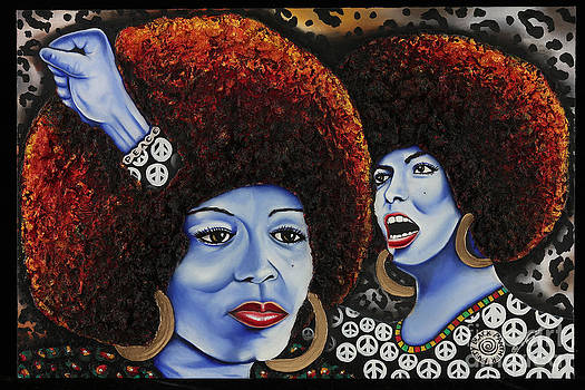 The Powerful Mind of Angela Davis by Nannette Harris