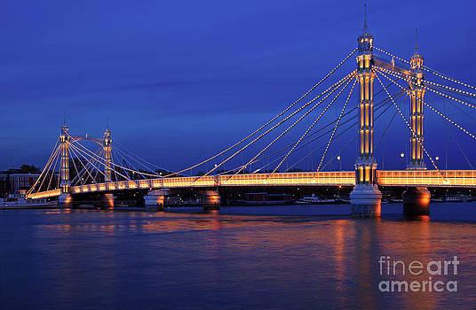 The prettiest bridge in town. by Pete Reynolds