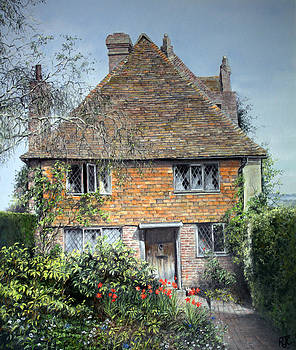 The Priests House Sissinghurst Castle by Rosemary Colyer