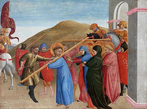Sassetta - The Procession to Calvary