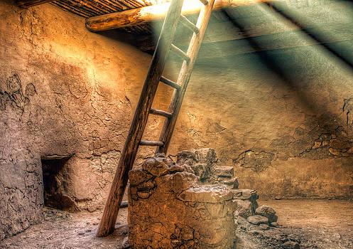 The Pueblo Cermonial Room by Anna Rumiantseva