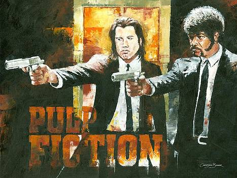 The Pulp Fiction by Christiaan Bekker