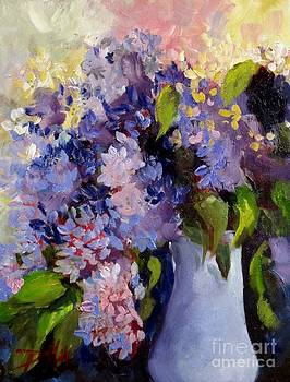The Purple of Lilacs by Delilah  Smith