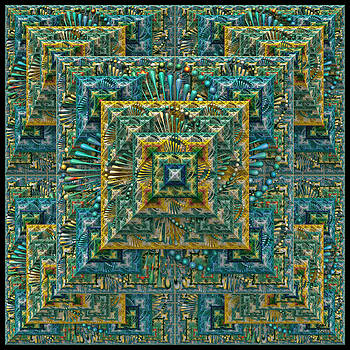 The Pyramid - A Fractal Artifact by Manny Lorenzo