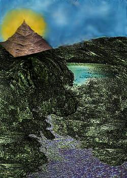 The Pyramid's Last Sunrise by Bad Monkey